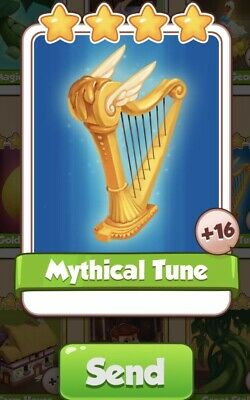Coin Master Cards Mythical Tune Fast Delivery
