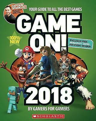 Game On! 2018 by Scholastic (Paperback, 2017)-G033