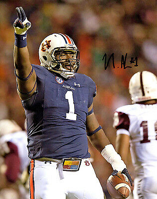 Montravius Adams Auburn Tigers hand signed autographed 8x10 football photo COA d
