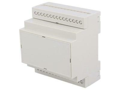 1 X D4MG Enclosure for DIN rail mounting; Y:90.2mm; X:71mm; Z:57.5mm; ABS