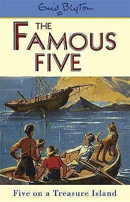 Five on a Treasure Island: Book 1 by Enid Blyton (Paperback, 1997)-F051