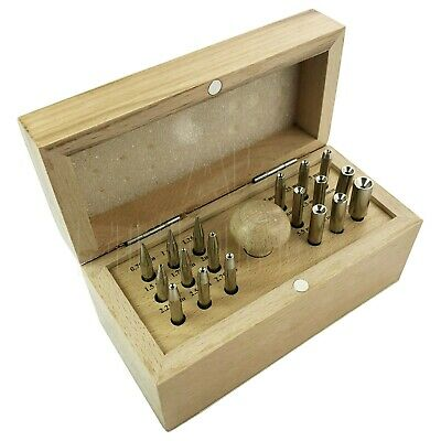 Jewellers Craft 18 Round Bezel Punch Set Stone Setting Ring Setting Jeweler Tool