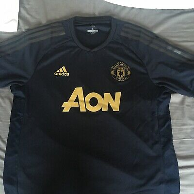 pretty nice 8965a d647f MANCHESTER UNITED 18/19 Adidas Large UCL Training Shirt