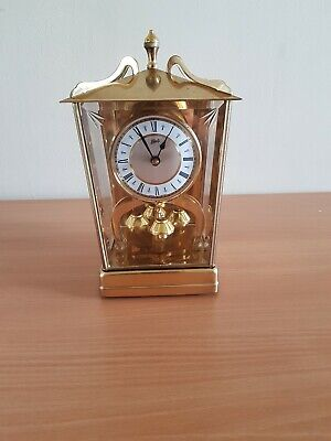 Vintage German Schatz 400 Day Model #53 Anniversary Lantern Mantle Clock