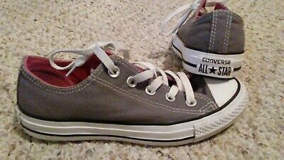 cc0d76843599 Converse Chuck Taylor All Stars CTAS Oxford Gray Canvas Womens Sz 6 Youth 4