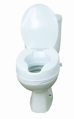 Drive 12067 6 Inch Raised Toilet Seat With Lid
