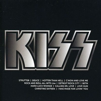 KISS - Icon  (Best Of/Greatest Hits) I Was Made for Loving You - CD - NEUWARE