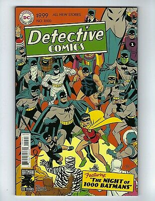 DETECTIVE COMICS # 1000 (Michael Cho 1950's Variant Cover, MAY 2019), NM NEW