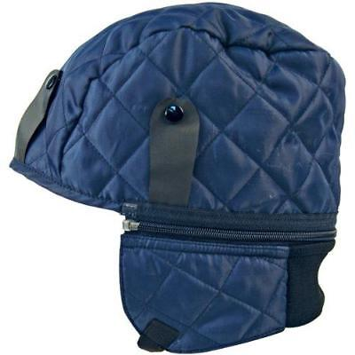 JSP Cold Weather Safety Helmet Liner COLD WINTER WARM PADDED QUILTED HAT HARNESS