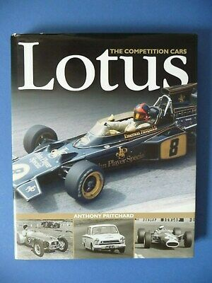 Lotus The Competition Cars Anthony Pritchard
