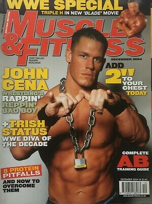 MUSCLE AND FITNESS MAGAZINE - December 2004