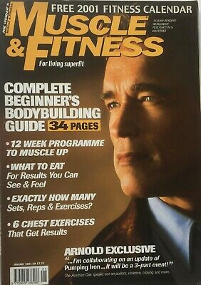MUSCLE AND FITNESS MAGAZINE - January 2001