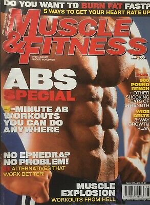 MUSCLE AND FITNESS MAGAZINE - May 2004