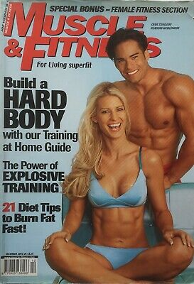 MUSCLE AND FITNESS MAGAZINE - December 2001