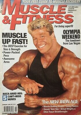 MUSCLE AND FITNESS MAGAZINE - February 2002