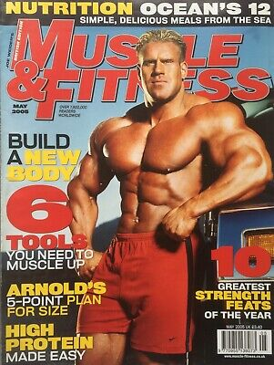 MUSCLE AND FITNESS MAGAZINE - May 2005