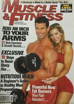 MUSCLE AND FITNESS MAGAZINE - September 2002