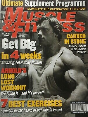 MUSCLE AND FITNESS MAGAZINE - March 2006