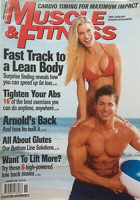 MUSCLE AND FITNESS MAGAZINE - November 2002
