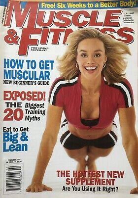 MUSCLE AND FITNESS MAGAZINE - February 1998