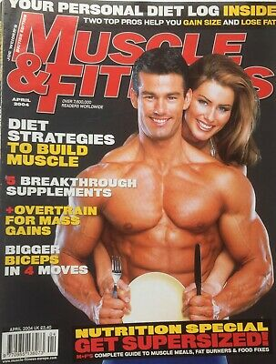 MUSCLE AND FITNESS MAGAZINE - April 2004