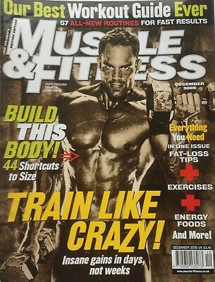 MUSCLE AND FITNESS MAGAZINE - December 2005