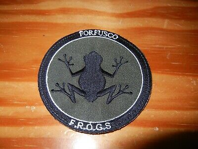 COS      COMMANDOS  MARINE      FORFUSCO      FROGS       patch B.V. sur scratch