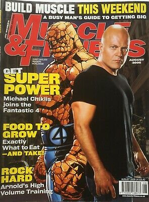 MUSCLE AND FITNESS MAGAZINE - August 2005