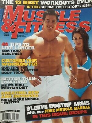 MUSCLE AND FITNESS MAGAZINE - June 2004
