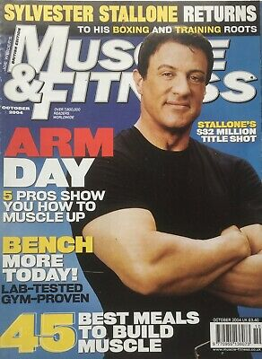 MUSCLE AND FITNESS MAGAZINE - October 2004