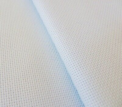 Ice Blue 14 Count Zweigart Aida cross stitch fabric - various size options