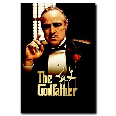Godfather Marlon Brando 12x18inch 1972 Vintage Style Movie Silk Poster Cool Gift
