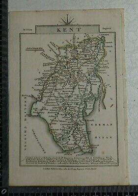 1810 - John Cary Map of the County of Kent