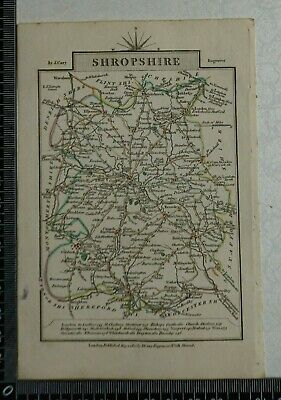 1810 - John Cary Map of the County of Shropshire