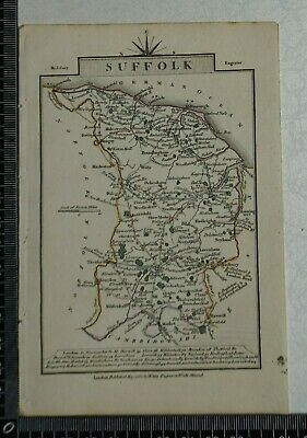 1810 - John Cary Map of the County of Suffolk