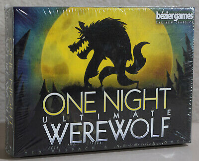 Bezier Games One Night Ultimate WEREWOLF - BRAND NEW FACTORY SEALED