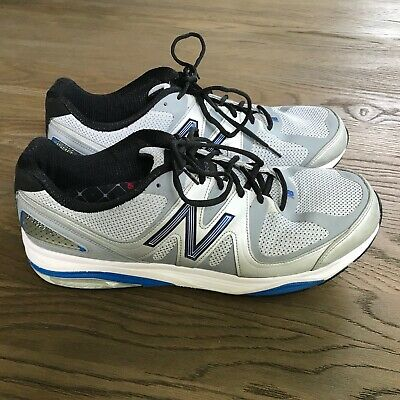 super popular 701e2 c8ade NEW BALANCE 1540V2 Mens Sz 15 Gray Blue Silver Roll Bar Running Shoes  Sneakers