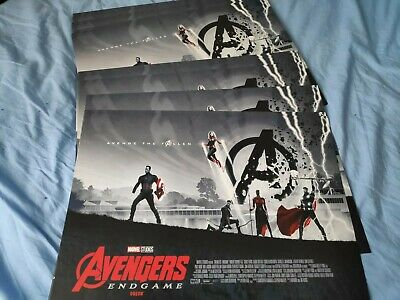 Marvel Avengers Endgame ODEON Poster Design 1 of 2 By Matt Ferguson UK official