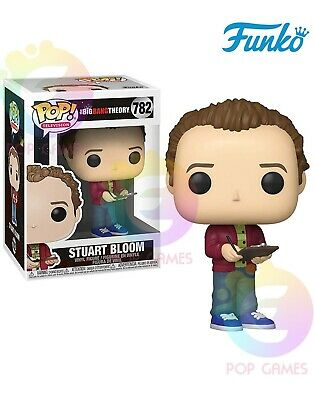 STUART BLOOM #782 Funko POP Vinyl Figure Television The Big Bang Theory