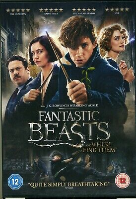 Fantastic Beasts and Where to Find Them (Harry Potter) New Sealed DVD
