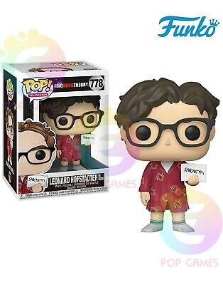 LEONARD HOFSTADTER #778 Funko POP Vinyl Figure Television The Big Bang Theory