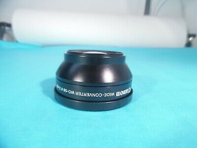 Canon WD-58 Wide-Converter Lens 0.7x 58mm