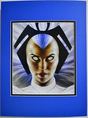 ORORO / STORM Professionally Matted PRINT Joe Jusko art Marvel X-Men
