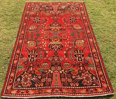 Stunning Antique 100%hand made with fine wool Turkish Oushak Rug 6x6x4.1(1194)
