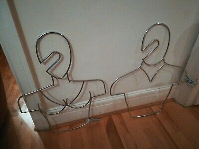 The Coat Hanger Company 2 x His & Hers Male & Female Made to Order VERY RARE