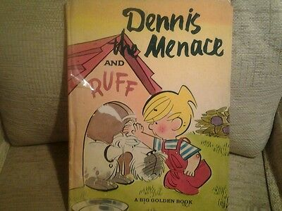 Dennis the Menace and Ruff by Carl Memling  -1963 edition