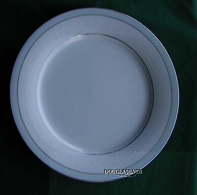 "Noritake Brandon China 10 1/2"" Dinner Plate  Elegant (S)"