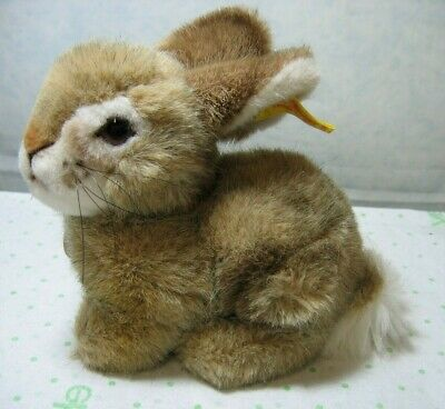 Steiff DORMILI RABBIT 12.6 inch Cuddly Soft Plush Toy Bunny Easter Rabbit