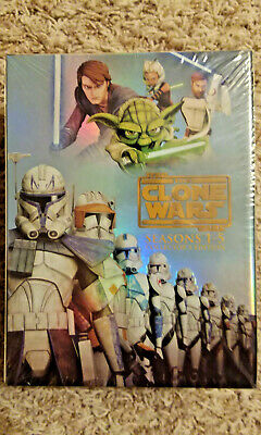 New Star Wars:The Clone Wars Complete Series Seasons 1-5 Collectors Edition
