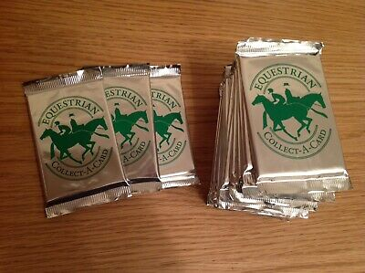 Equestrian Collect-a-card Trading Cards Packs